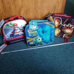 🆕️ 3 Disney Lunch totes